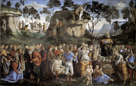 Legacy And Death Of Moses: Religion: The Sistine Chapel